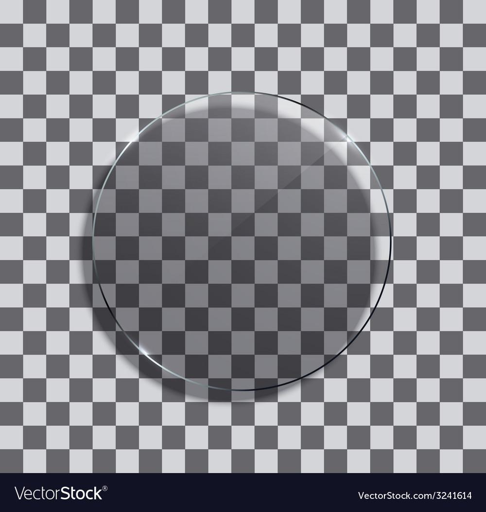 Modern glass circle vector   Price: 1 Credit (USD $1)