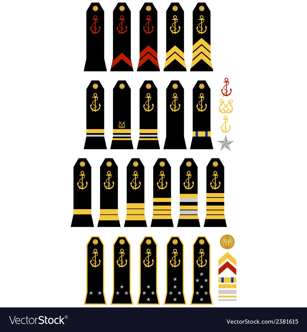 Insignia of the french navy vector | Price: 1 Credit (USD $1)