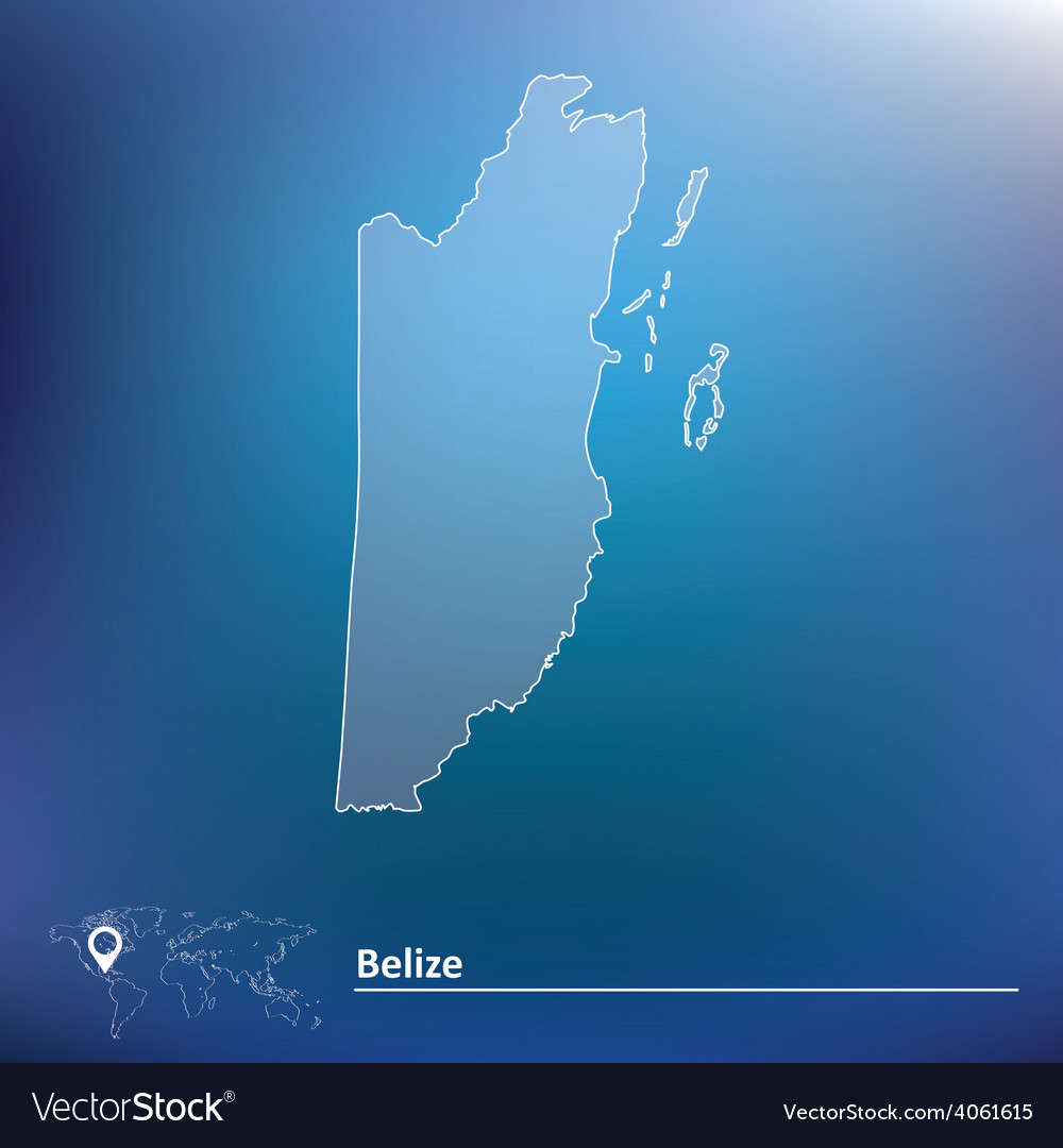 Map of belize vector   Price: 1 Credit (USD $1)