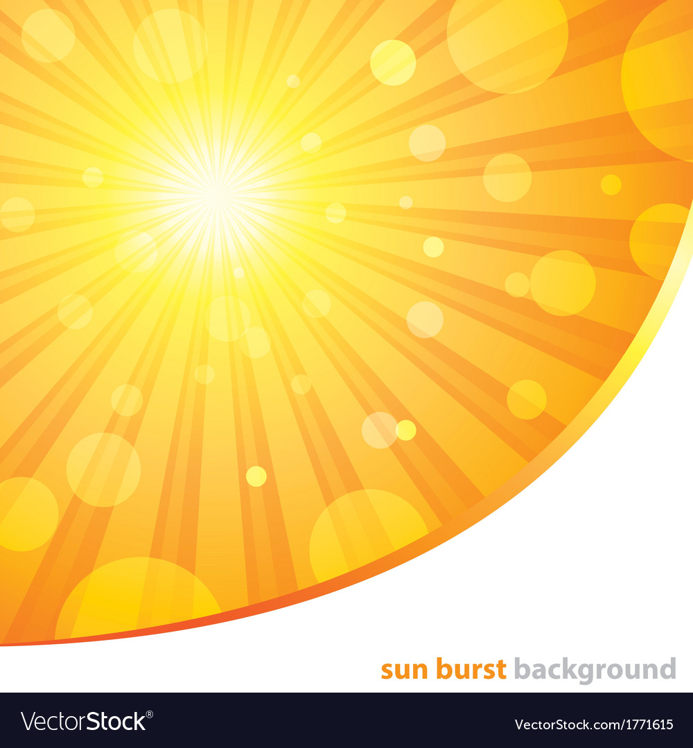 Sun burst background vector   Price: 1 Credit (USD $1)