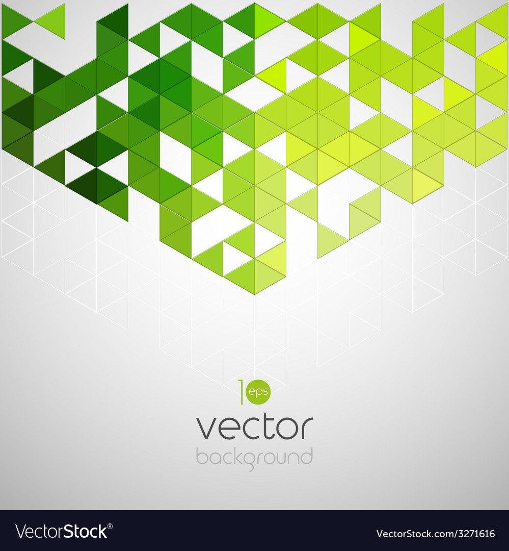 Abstract geometric background with color triangle vector | Price: 1 Credit (USD $1)