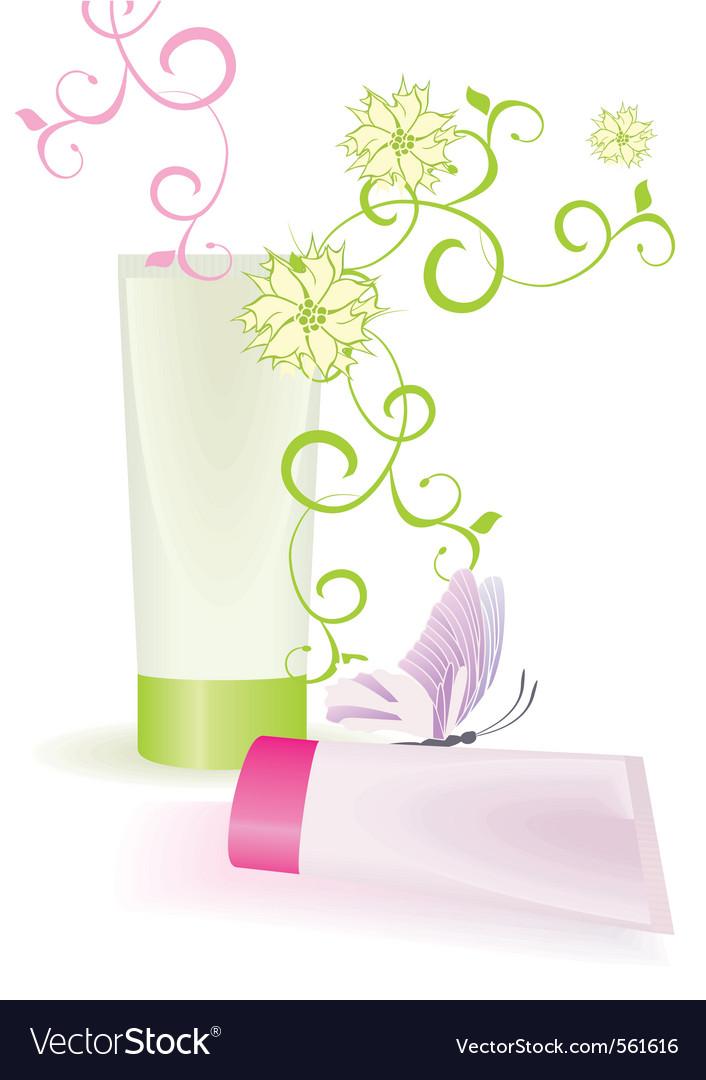 Cream tubes vector   Price: 1 Credit (USD $1)