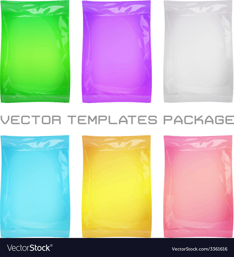 Package blank template vector | Price: 1 Credit (USD $1)