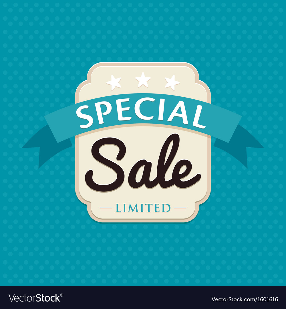Sale badge vector | Price: 1 Credit (USD $1)