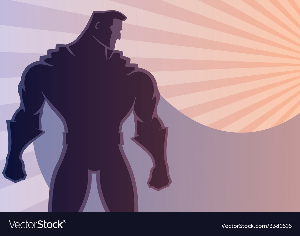 Superhero background 2 vector | Price: 1 Credit (USD $1)