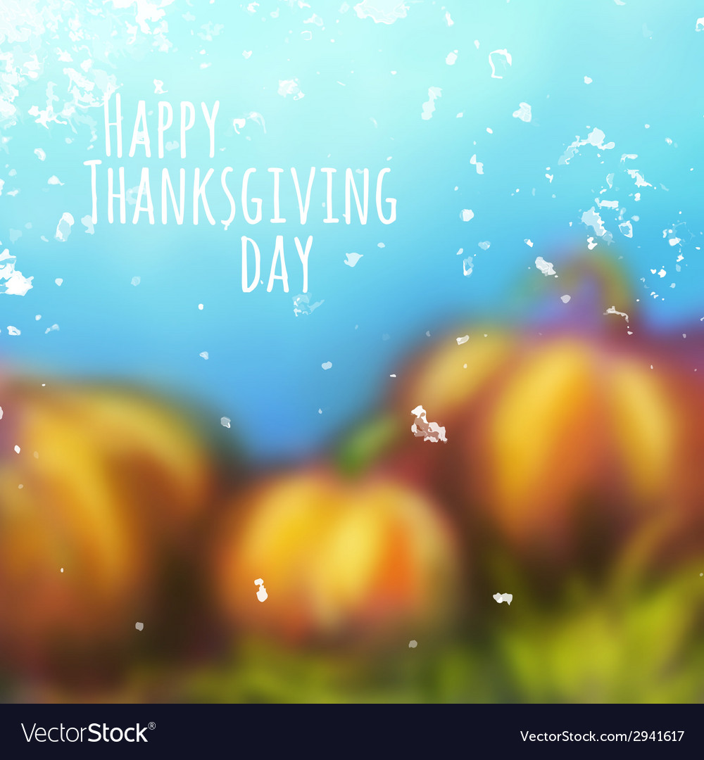 Autumn background for thanksgiving day vector | Price: 1 Credit (USD $1)
