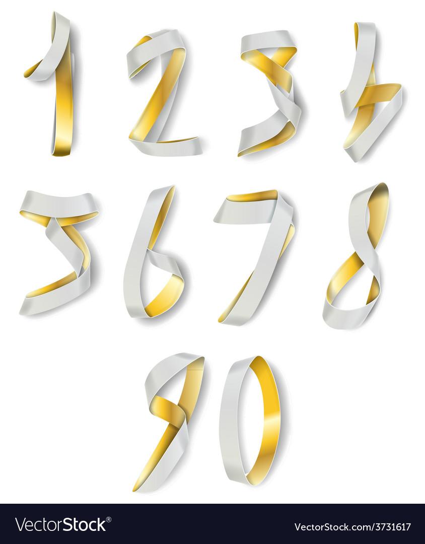 Numerals vector | Price: 1 Credit (USD $1)