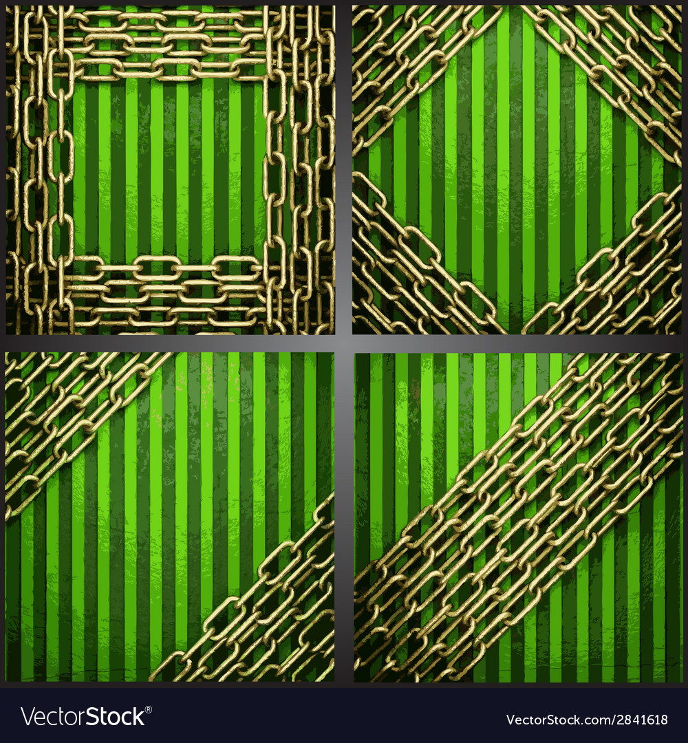 Green background with gold vector | Price: 1 Credit (USD $1)