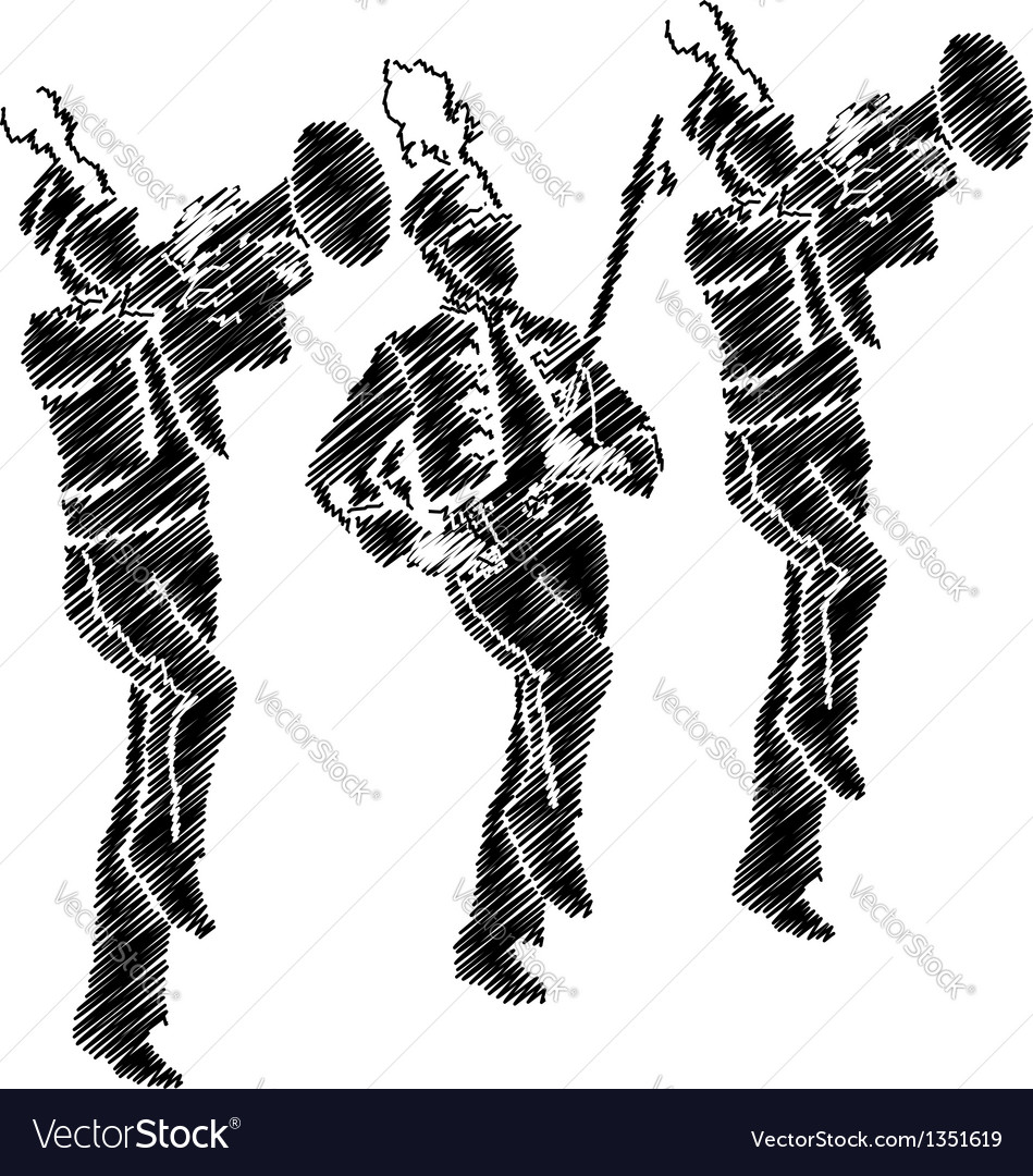 Marching band vector | Price: 1 Credit (USD $1)