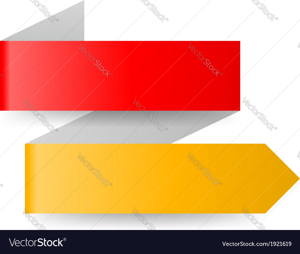 Paper arrow vector | Price: 1 Credit (USD $1)