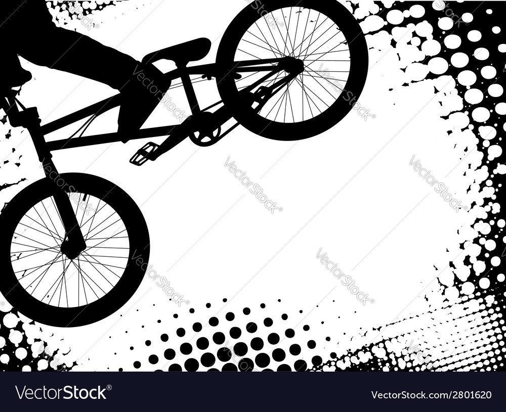 Bmx background vector | Price: 1 Credit (USD $1)