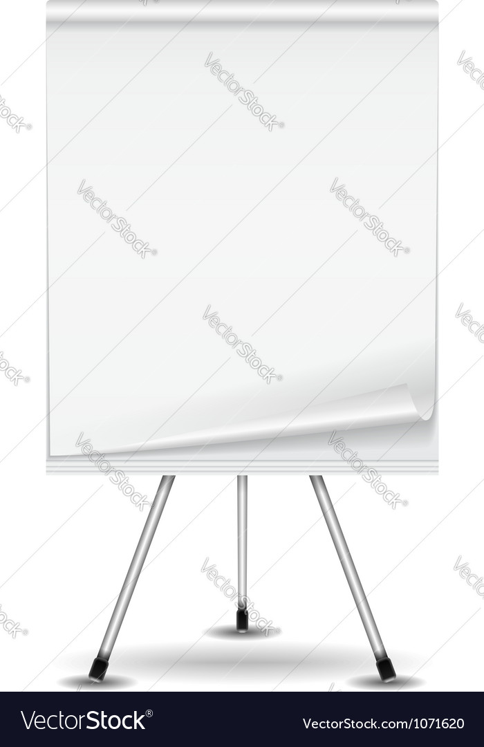 Flip chart vector | Price: 1 Credit (USD $1)