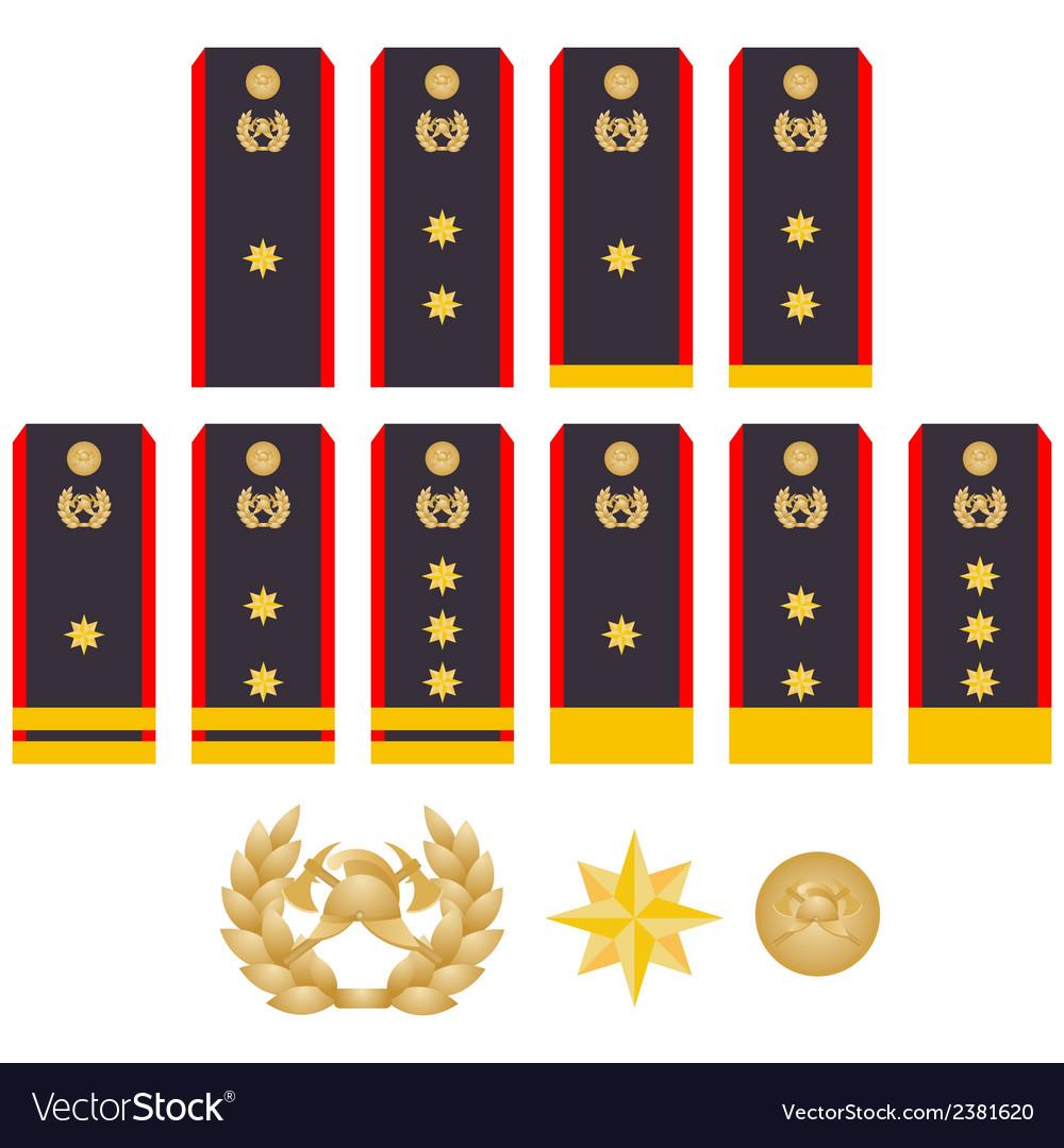 Insignia fire service vector   Price: 1 Credit (USD $1)