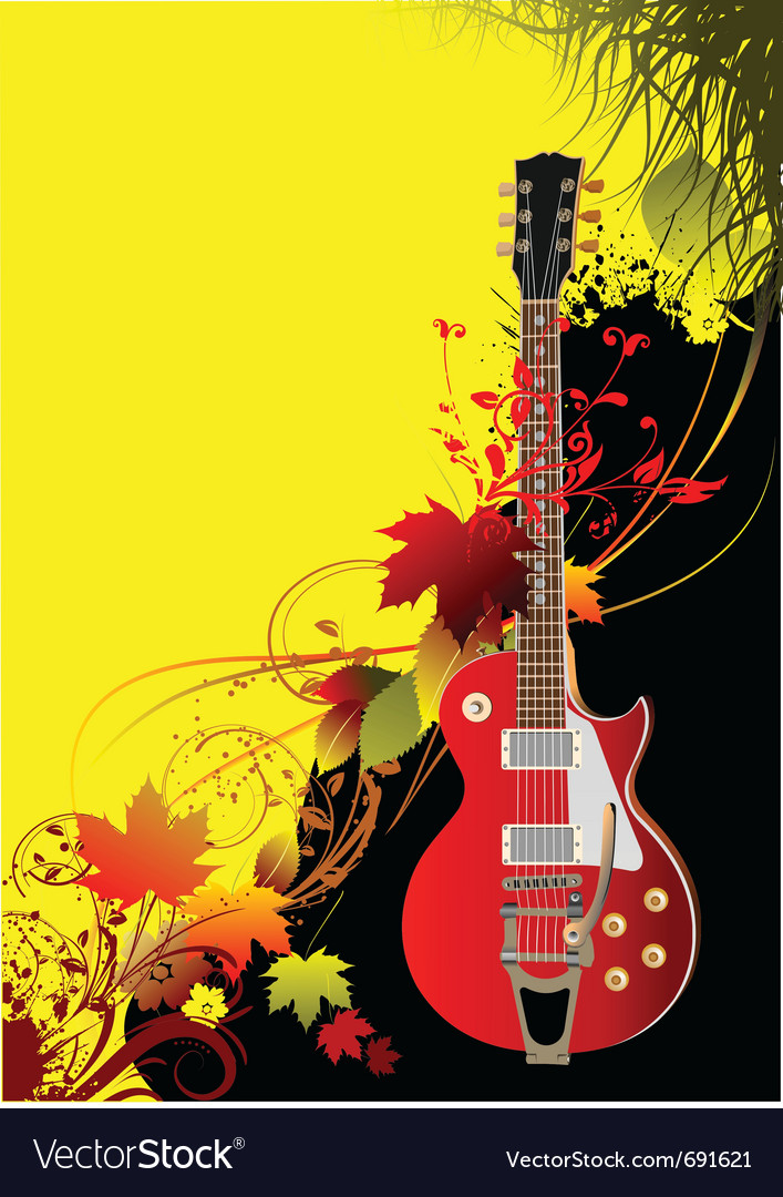 Rock poster vector | Price: 1 Credit (USD $1)