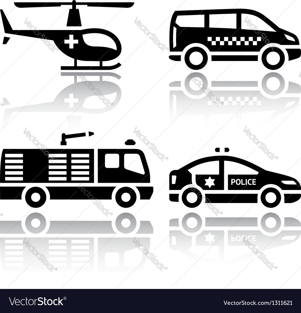 Set of transport icons - transport services vector | Price: 1 Credit (USD $1)