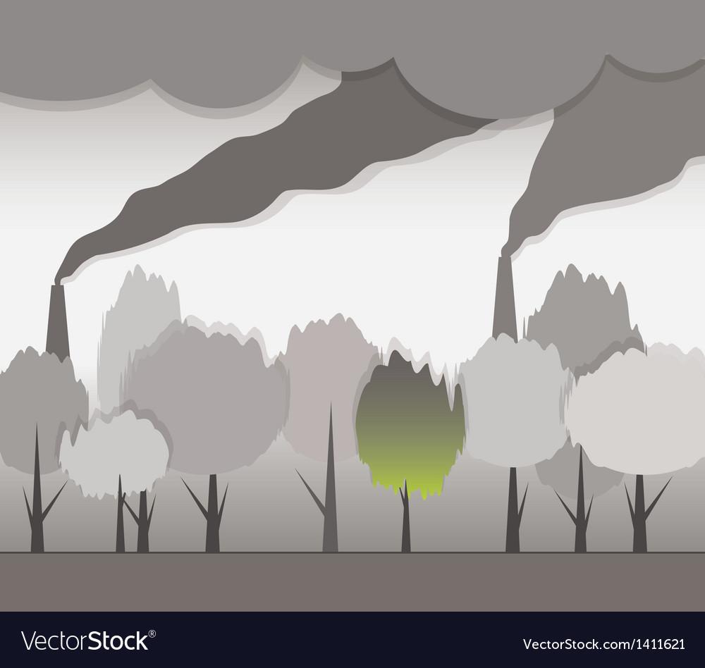 Smoke and contaminated environment vector   Price: 1 Credit (USD $1)