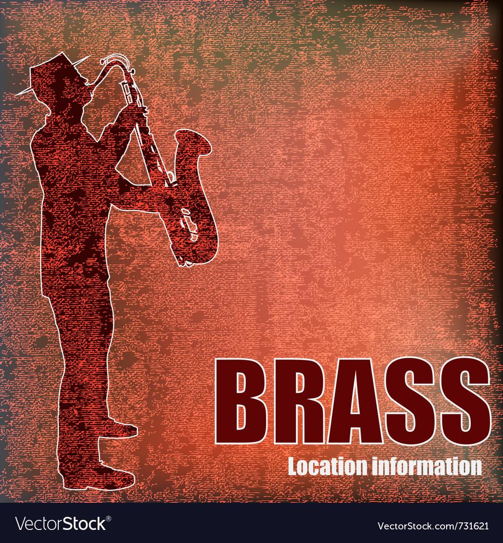 Vintage brass vector | Price: 1 Credit (USD $1)