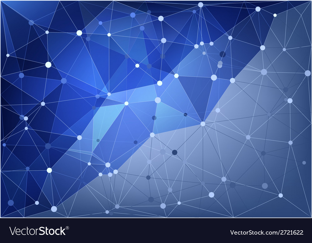 Abstract triangle net vector | Price: 1 Credit (USD $1)