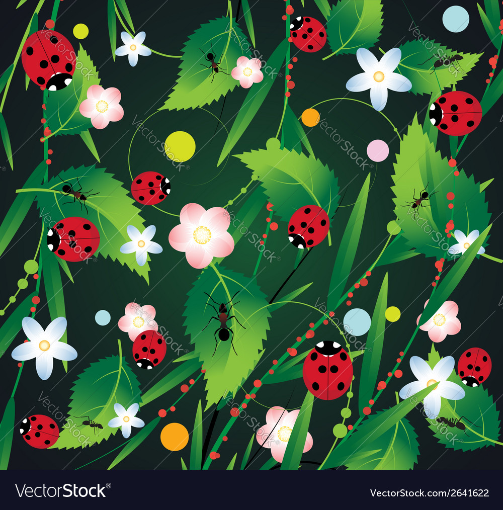 Beneficial insects vector | Price: 1 Credit (USD $1)