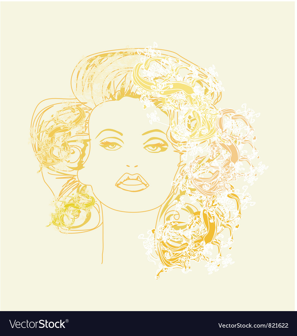 Fashion drawing vector | Price: 1 Credit (USD $1)