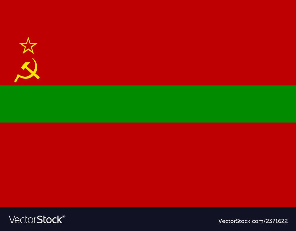 Flag of transnistria vector | Price: 1 Credit (USD $1)