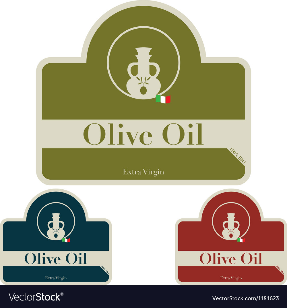 Olive il - label vector | Price: 1 Credit (USD $1)