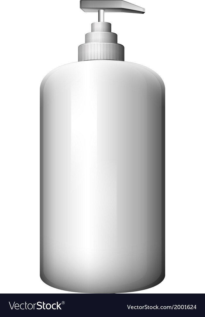 A gray spray bottle vector | Price: 1 Credit (USD $1)