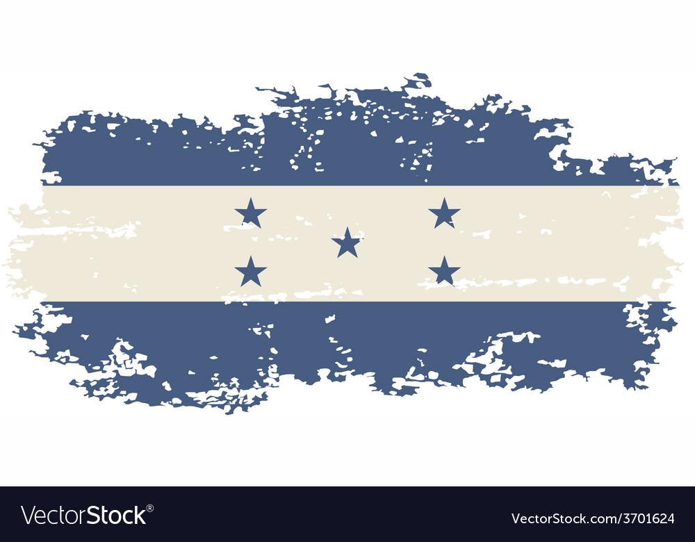 Honduras grunge flag vector   Price: 1 Credit (USD $1)