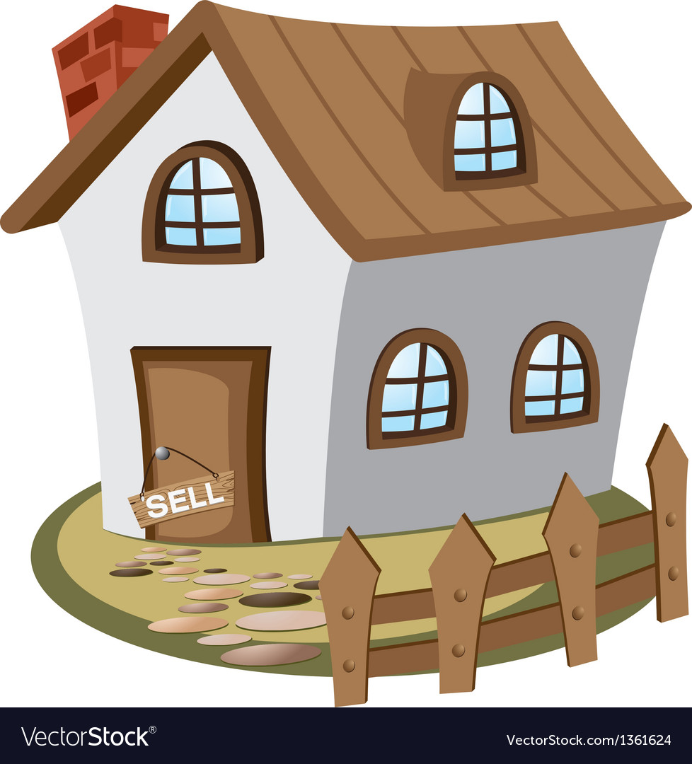 House for sell vector | Price: 1 Credit (USD $1)