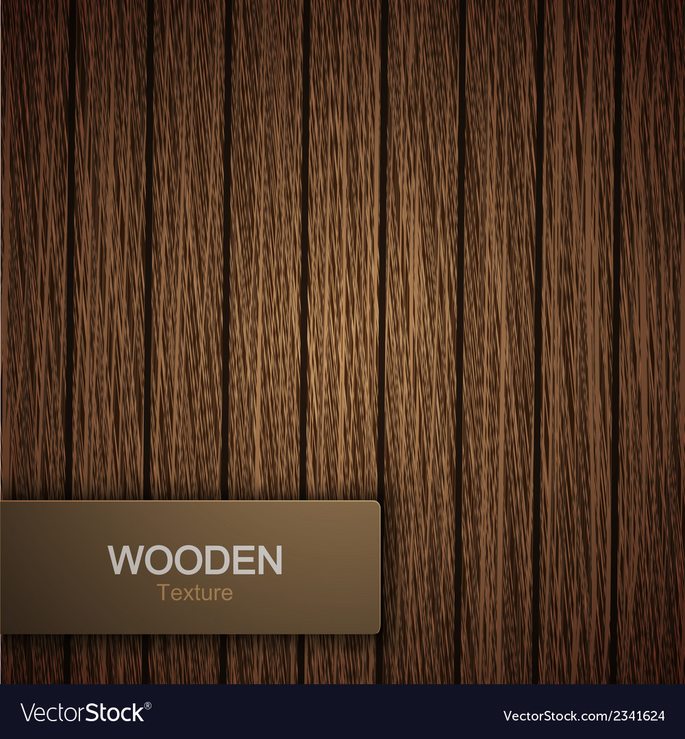 Modern wooden background vector | Price: 1 Credit (USD $1)