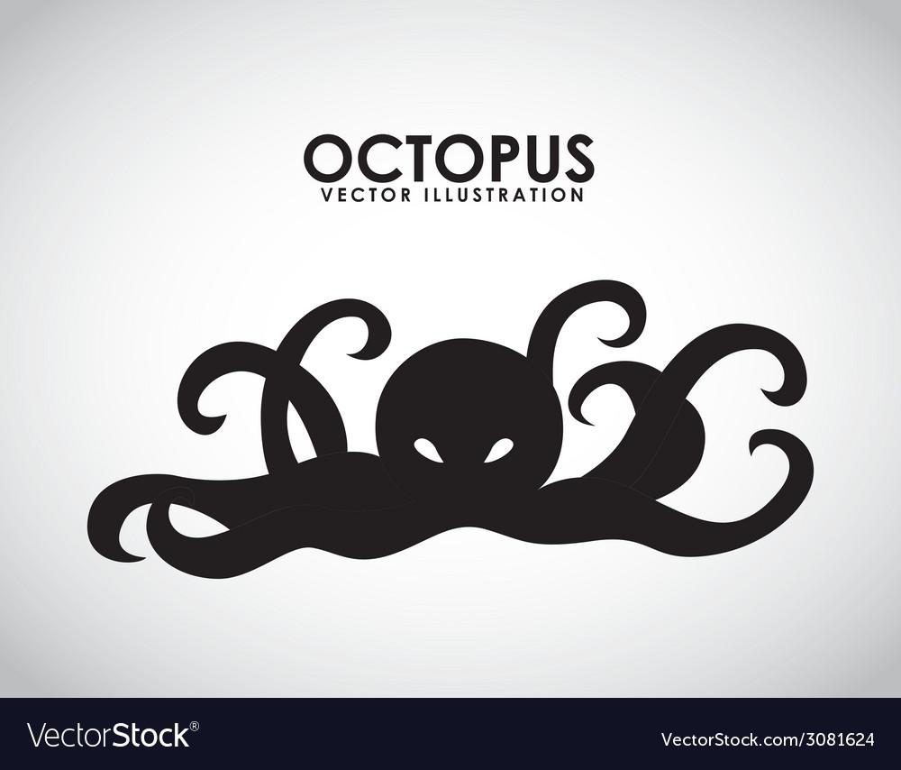Octopus design vector | Price: 1 Credit (USD $1)