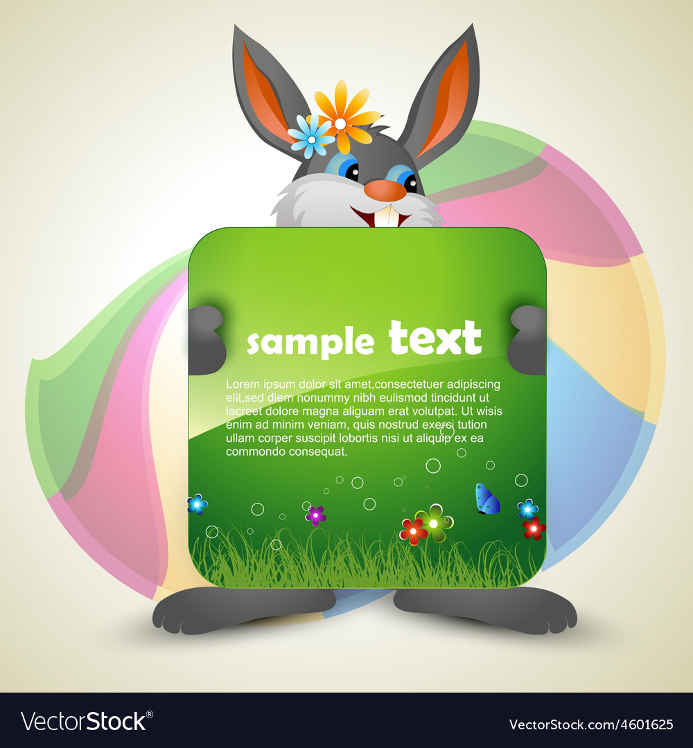 Bunny vector | Price: 1 Credit (USD $1)