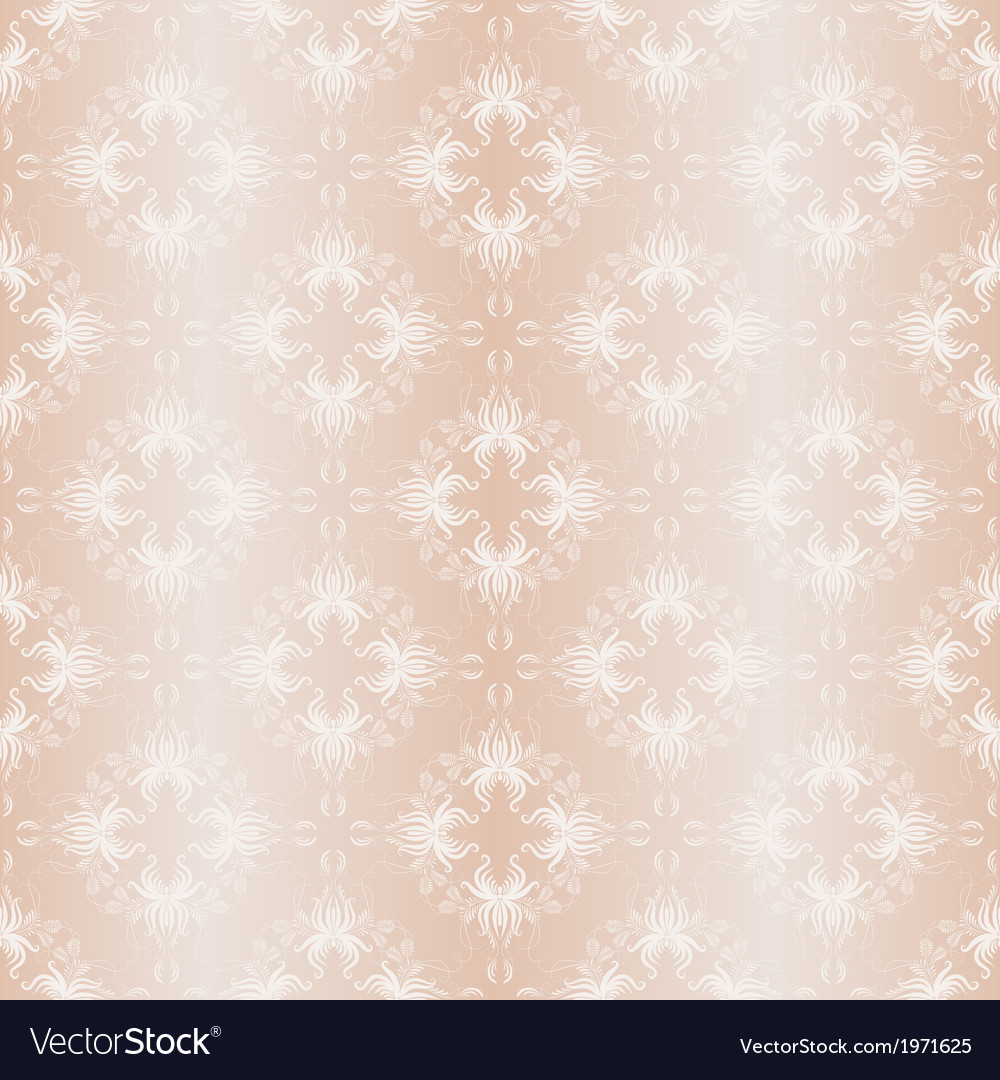 Damask seamless of vintage ornament vector | Price: 1 Credit (USD $1)