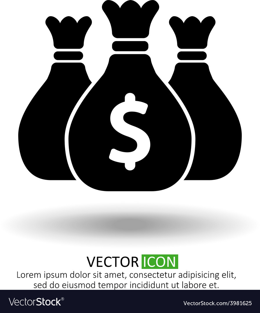 Money symbol vector | Price: 1 Credit (USD $1)