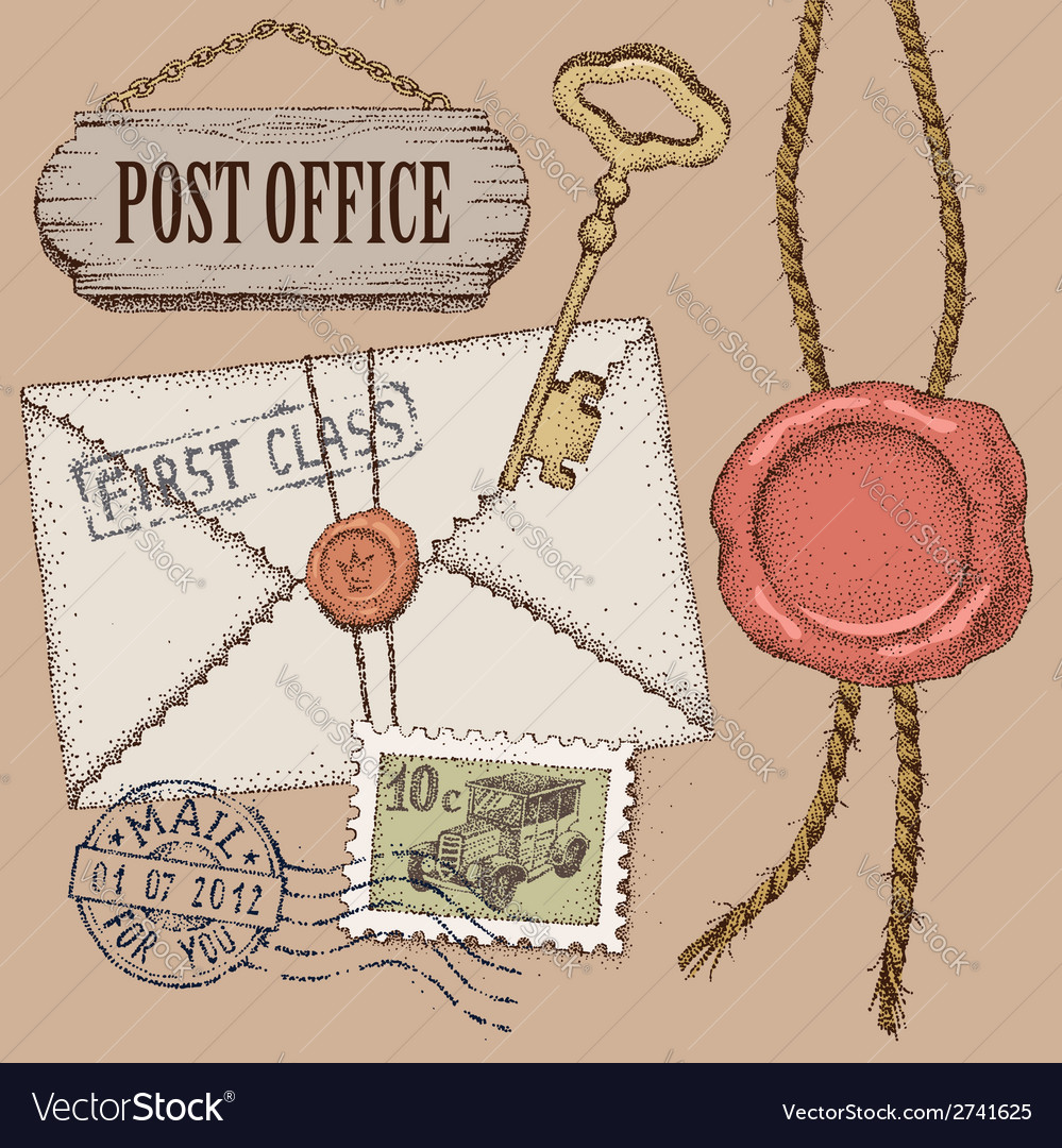 Post office vector | Price: 1 Credit (USD $1)