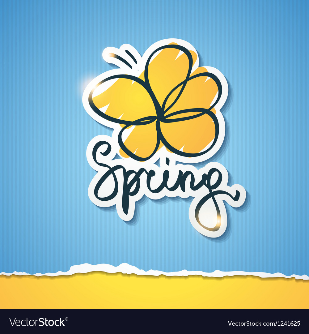 Spring  eps 10 vector | Price: 1 Credit (USD $1)