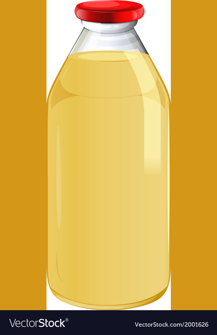 A bottle of orange juice vector | Price: 1 Credit (USD $1)