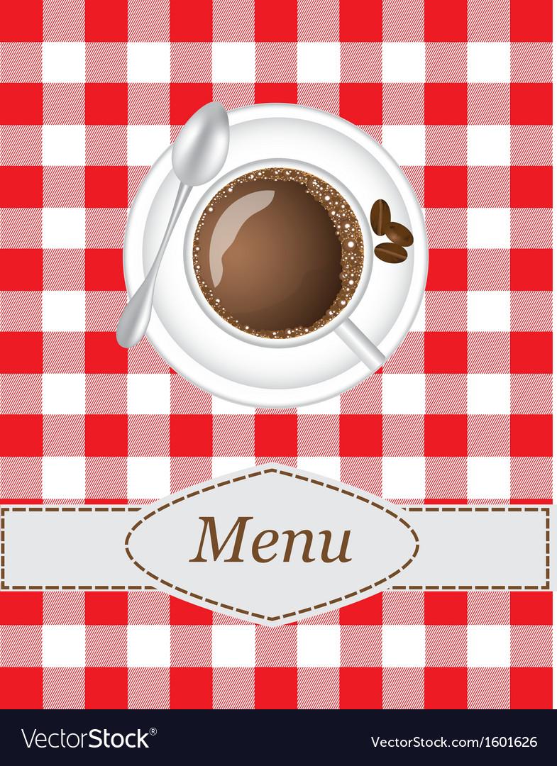 Coffee menu vector   Price: 1 Credit (USD $1)