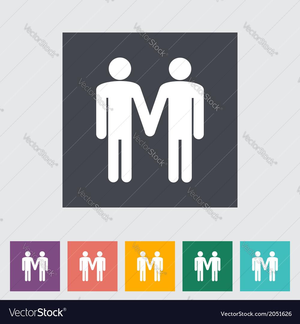 Gay sign vector | Price: 1 Credit (USD $1)
