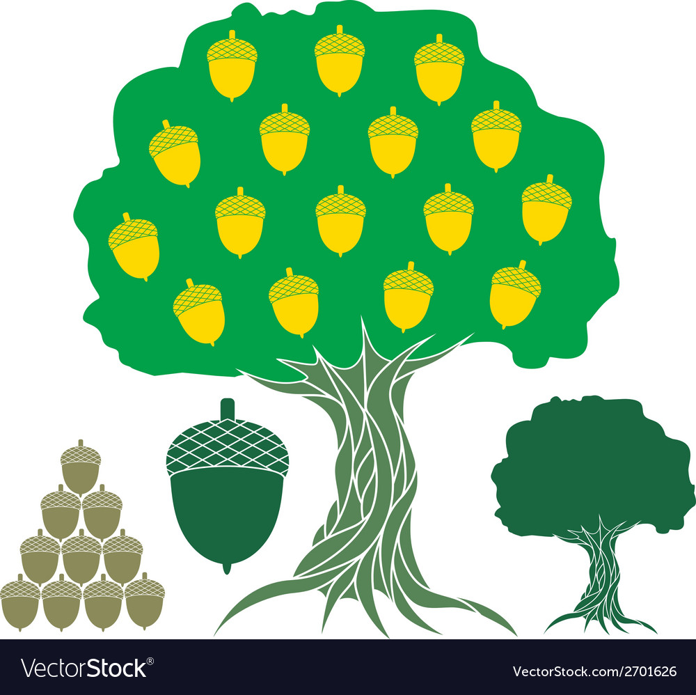 Oak vector | Price: 1 Credit (USD $1)