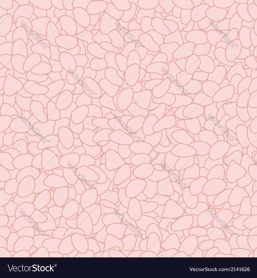 Seamless stones background vector | Price: 1 Credit (USD $1)