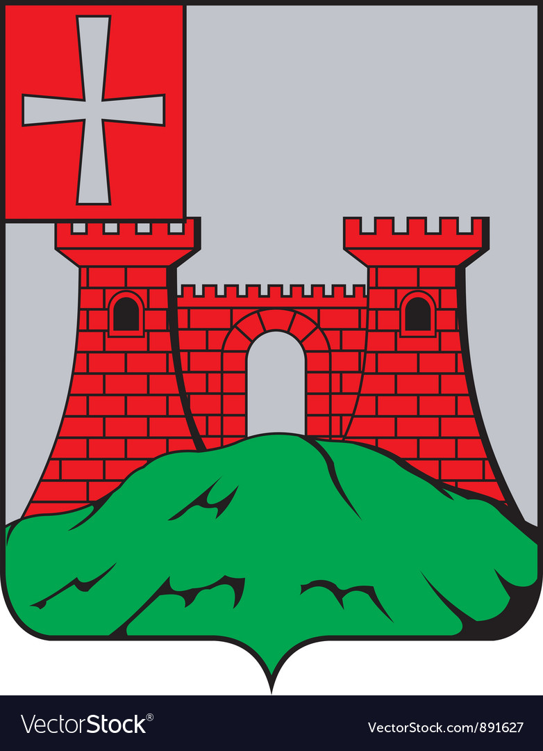 Kremenets city vector | Price: 1 Credit (USD $1)