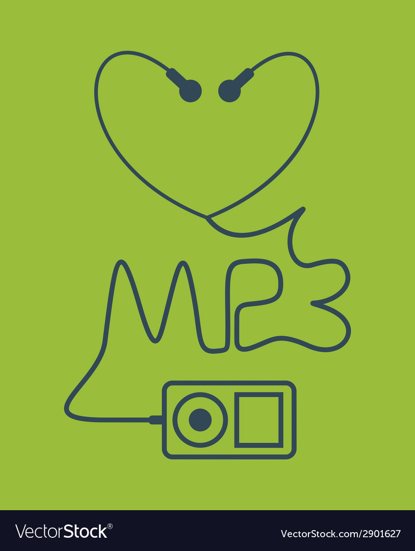 Mp3 vector | Price: 1 Credit (USD $1)