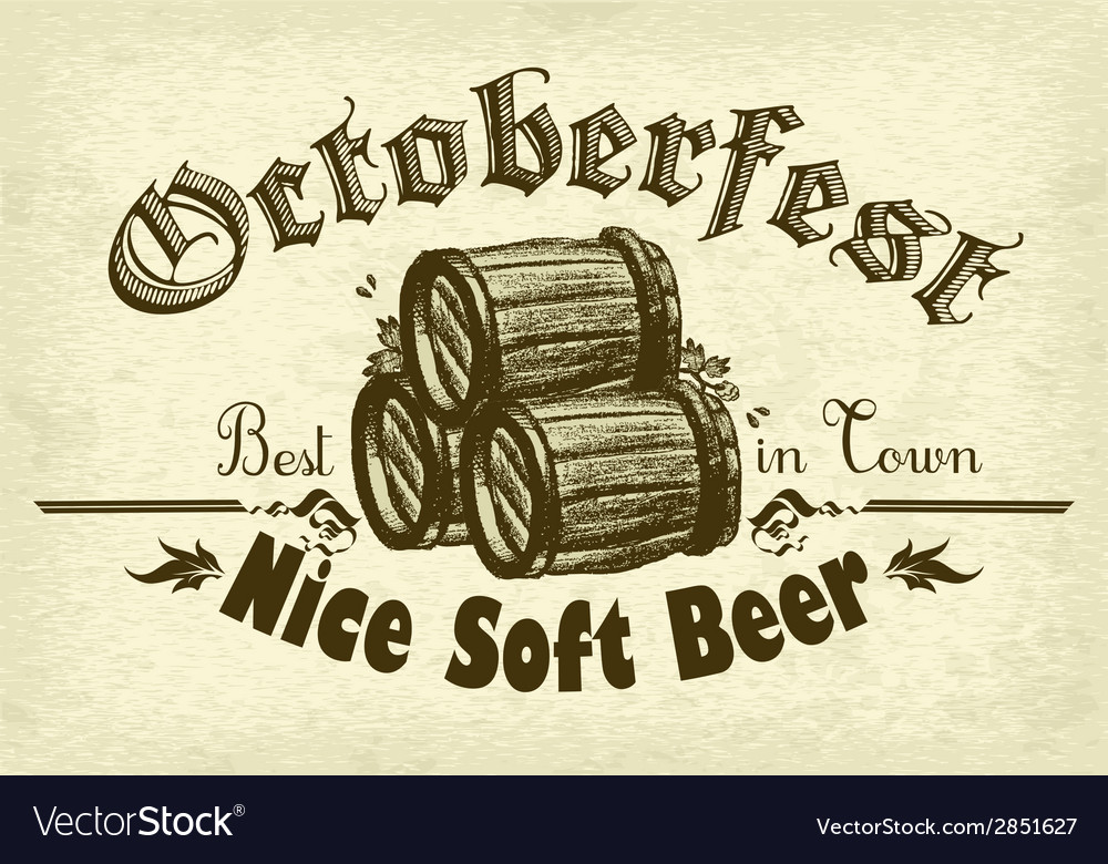 Octoberfest background rgb vector | Price: 1 Credit (USD $1)