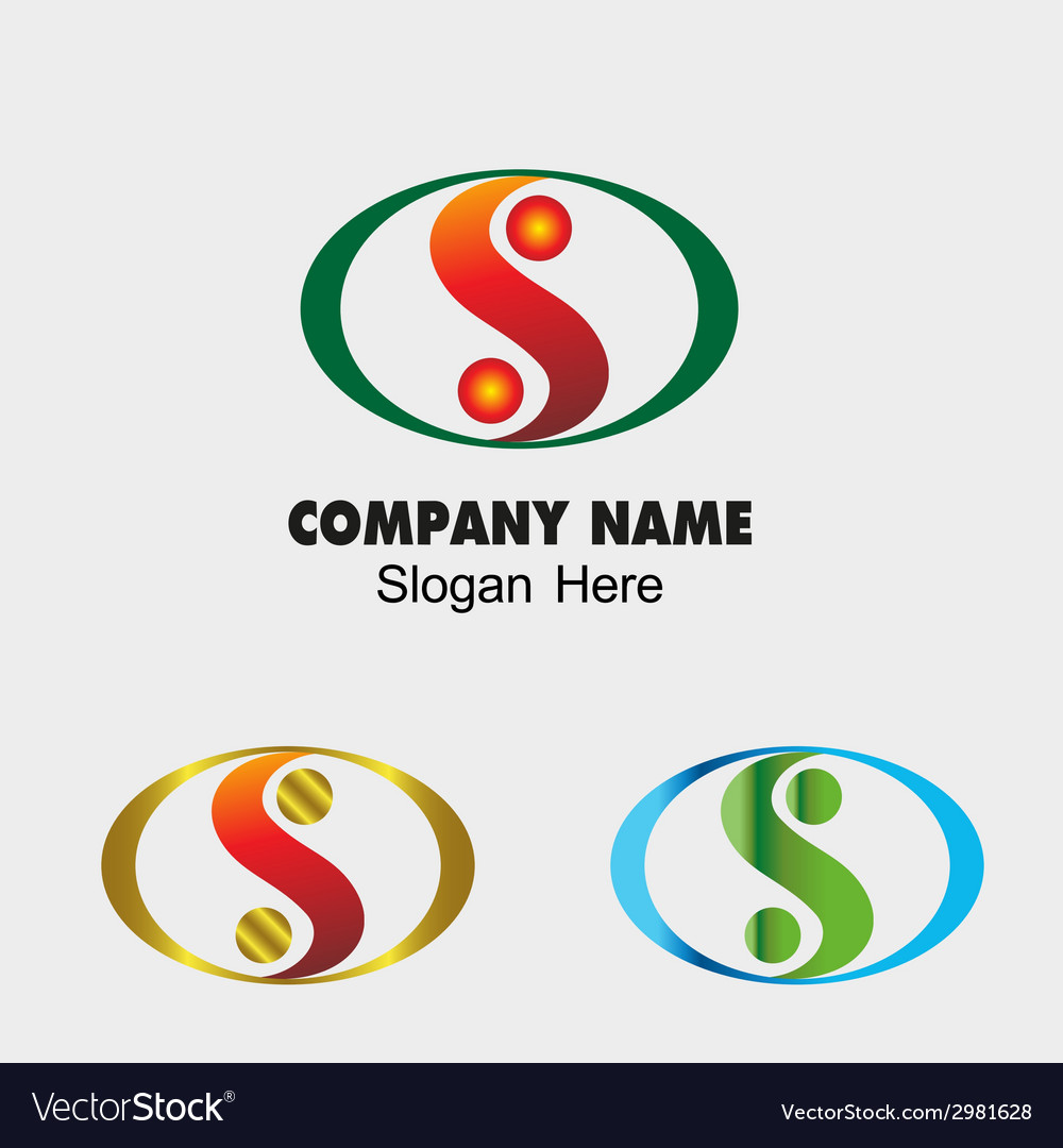 Abstract s letter sign design template vector | Price: 1 Credit (USD $1)