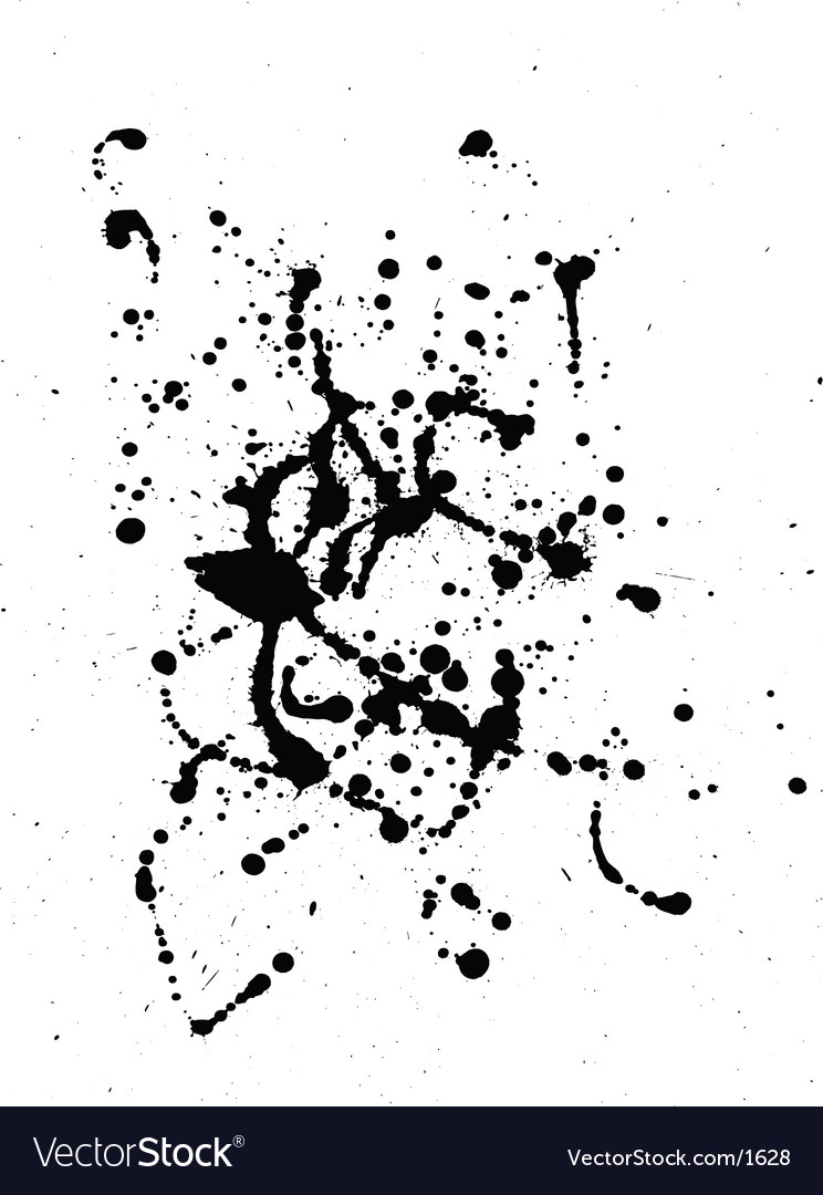 Ink splat vector | Price: 1 Credit (USD $1)