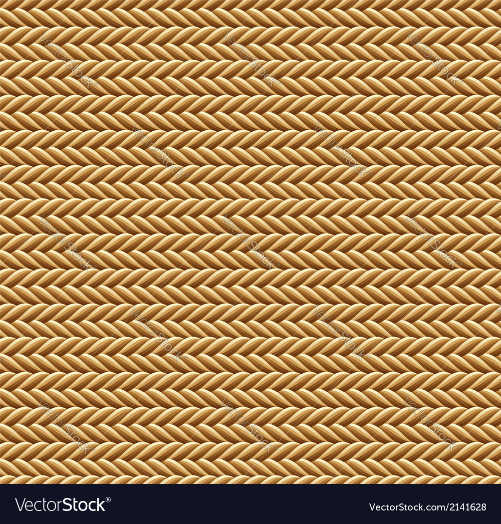 Seamless brown rope texture vector | Price: 1 Credit (USD $1)