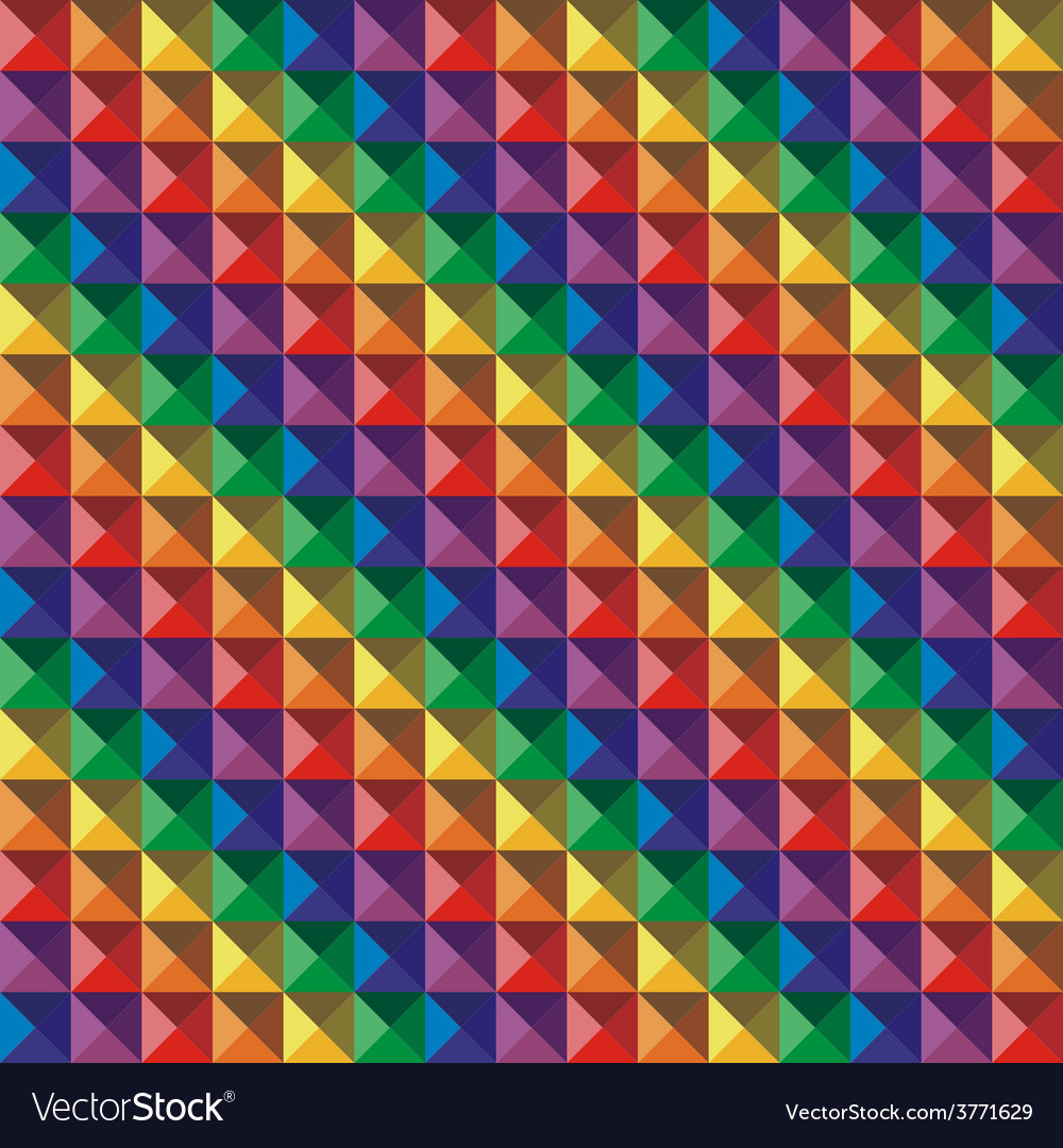 Abstract color geometric mosaic background vector | Price: 1 Credit (USD $1)
