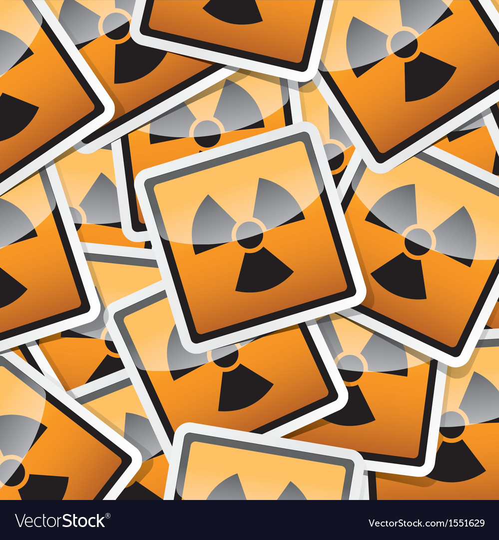 Sticker-danger-symbols vector | Price: 1 Credit (USD $1)