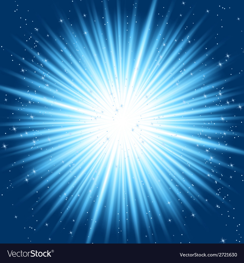 Abstract blue rays vector | Price: 1 Credit (USD $1)